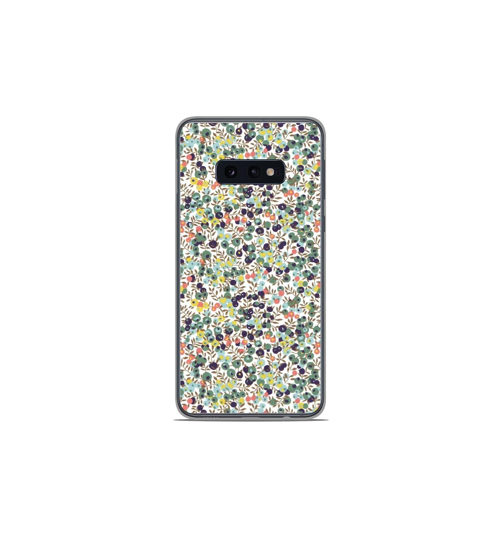 Coque en silicone Samsung Galaxy S10e - Liberty Wiltshire Vert
