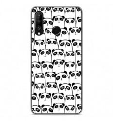 Coque en silicone Huawei P30 Lite - Réunion de Pandas