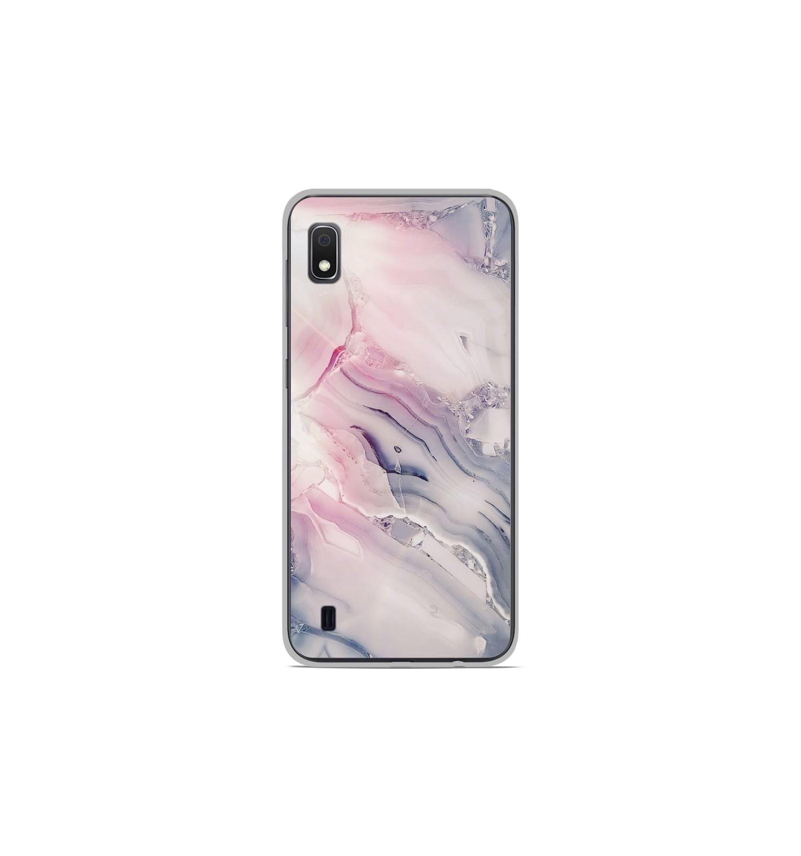 Coque en silicone Samsung Galaxy A10 - Zoom sur Pierre Claire