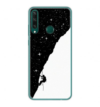 Coque en silicone Huawei Y6P - BS Nightclimbing