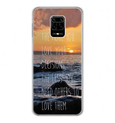 Coque en silicone Xiaomi Redmi Note 9S - Sunshine