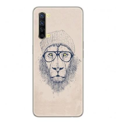 Coque en silicone Oppo Reno 3 - BS Cool Lion