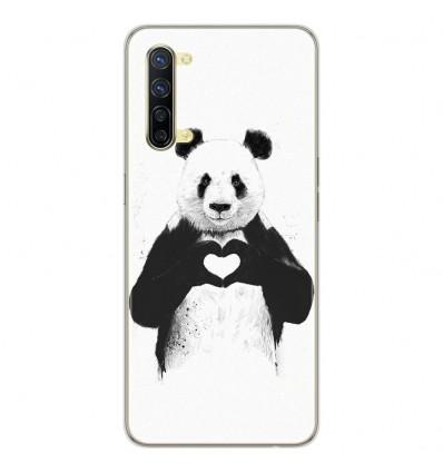 Coque en silicone Oppo Reno 3 - BS Love Panda