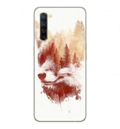 Coque en silicone Oppo Reno 3 - RF Blind Fox
