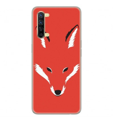 Coque en silicone Oppo Reno 3 - RF Foxy Shape