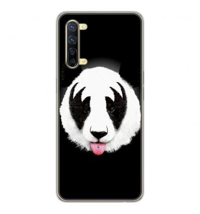 Coque en silicone Oppo Reno 3 - RF Kiss Of Panda