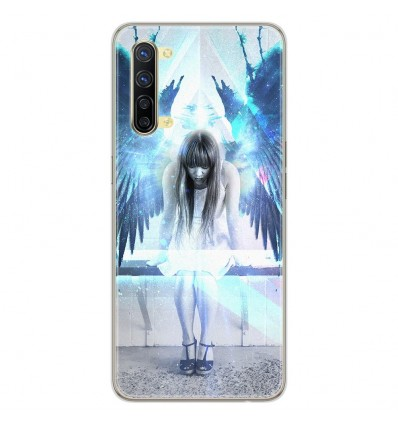Coque en silicone Oppo Reno 3 - Angel