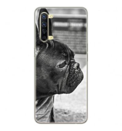 Coque en silicone Oppo Reno 3 - Bulldog