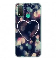 Coque en silicone Huawei P Smart 2020 - Coeur Love