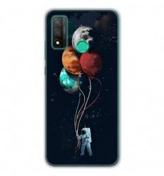 Coque en silicone Huawei P Smart 2020 - Cosmonaute aux Ballons