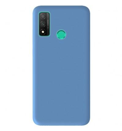 Coque Huawei P Smart 2020 Silicone Gel mat - Bleu Mat