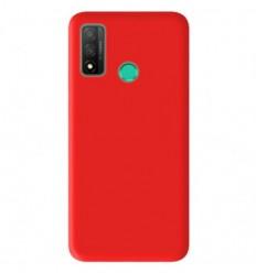 Coque Huawei P Smart 2020 Silicone Gel mat - Rouge Mat