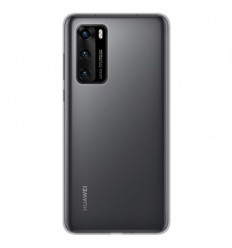 Coque Huawei P40 Silicone Gel - Transparent