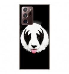 Coque en silicone Samsung Galaxy Note 20 Ultra - RF Kiss Of Panda