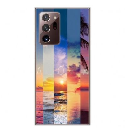 Coque en silicone pour Samsung Galaxy Note 20 Ultra - Aloha