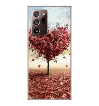 Coque en silicone Samsung Galaxy Note 20 Ultra - Arbre Love