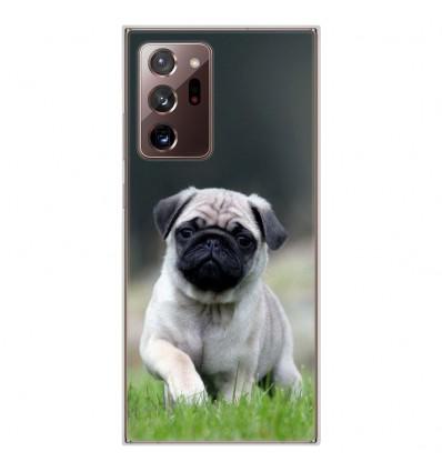 Coque en silicone Samsung Galaxy Note 20 Ultra - Bulldog français