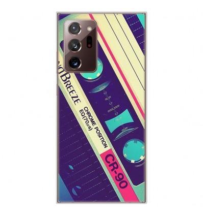 Coque en silicone Samsung Galaxy Note 20 Ultra - Cassette Vintage