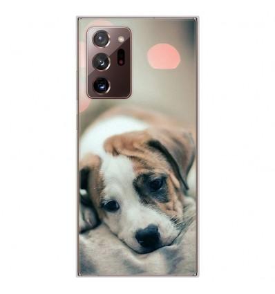 Coque en silicone Samsung Galaxy Note 20 Ultra - Chiot rêveur
