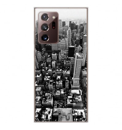 Coque en silicone Samsung Galaxy Note 20 Ultra - City