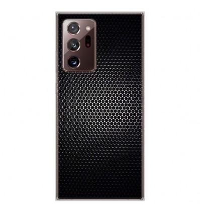 Coque en silicone Samsung Galaxy Note 20 Ultra - Dark Metal