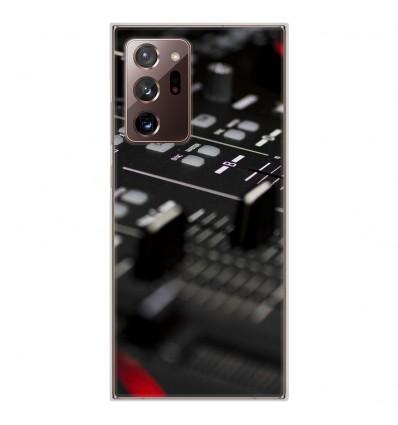 Coque en silicone Samsung Galaxy Note 20 Ultra - Dj Mixer