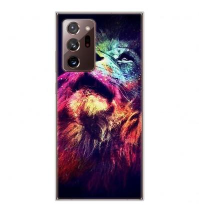 Coque en silicone Samsung Galaxy Note 20 Ultra - Lion swag