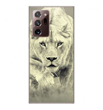 Coque en silicone Samsung Galaxy Note 20 Ultra - Lionne