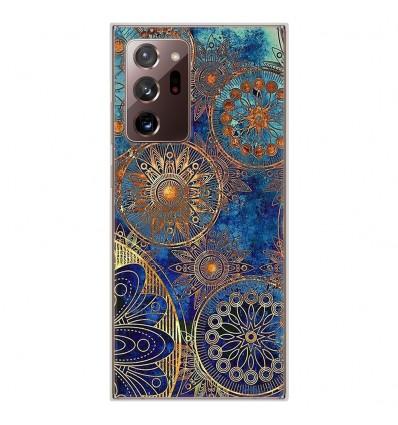 Coque en silicone Samsung Galaxy Note 20 Ultra - Mandalla bleu