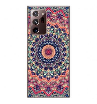 Coque en silicone Samsung Galaxy Note 20 Ultra - Mandalla rose