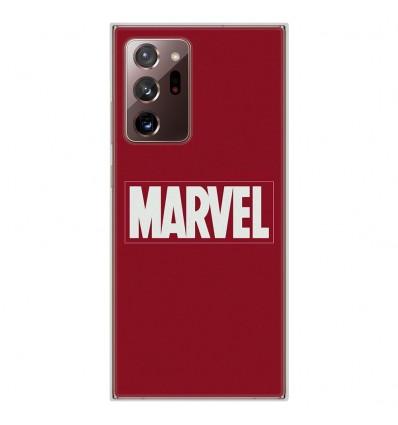 Coque en silicone pour Samsung Galaxy Note 20 Ultra - Marvel