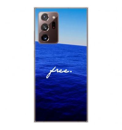 Coque en silicone Samsung Galaxy Note 20 Ultra - Océan free