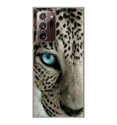 Coque en silicone pour Samsung Galaxy Note 20 Ultra - Oeil de léopard