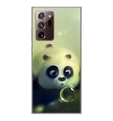 Coque en silicone Samsung Galaxy Note 20 Ultra - Panda Bubble
