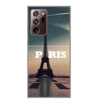 Coque en silicone Samsung Galaxy Note 20 Ultra - Paris