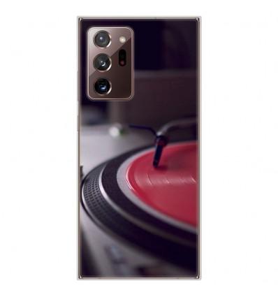Coque en silicone Samsung Galaxy Note 20 Ultra - Platine