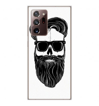 Coque en silicone Samsung Galaxy Note 20 Ultra - Skull Hipster