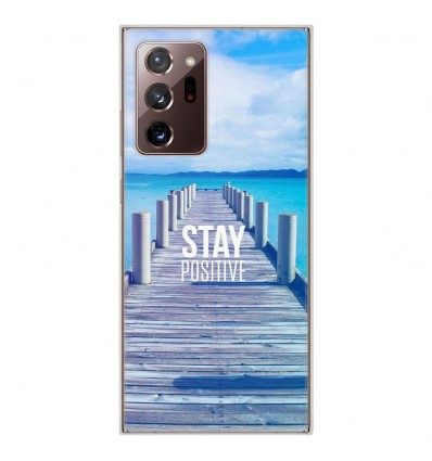 Coque en silicone Samsung Galaxy Note 20 Ultra - Stay positive