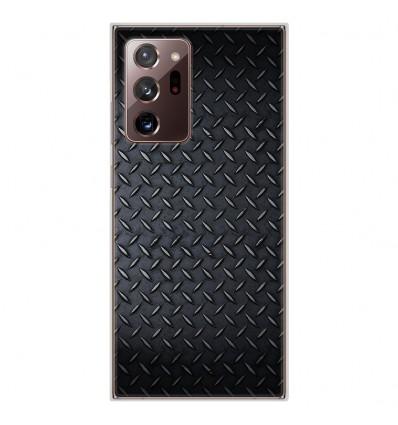 Coque en silicone Samsung Galaxy Note 20 Ultra - Texture metal