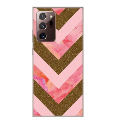 Coque en silicone Samsung Galaxy Note 20 Ultra - Texture paillettes