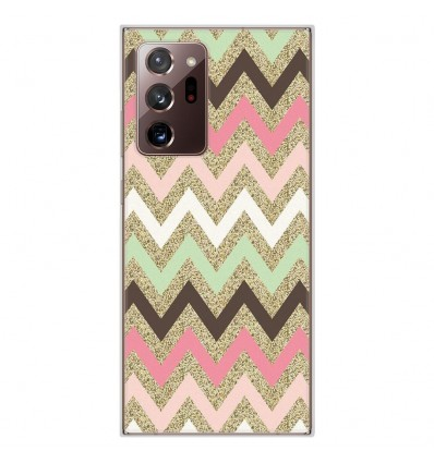 Coque en silicone Samsung Galaxy Note 20 Ultra - Texture rose