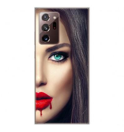 Coque en silicone Samsung Galaxy Note 20 Ultra - Lèvres Sang