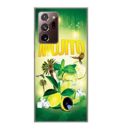 Coque en silicone pour Samsung Galaxy Note 20 Ultra - Mojito Forêt