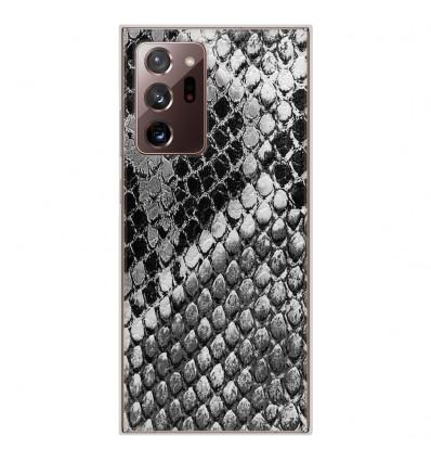 Coque en silicone Samsung Galaxy Note 20 Ultra - Texture Python