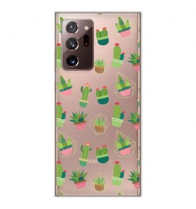 Coque en silicone Samsung Galaxy Note 20 Ultra - Cactus