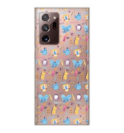 Coque en silicone Samsung Galaxy Note 20 Ultra - Happy animals