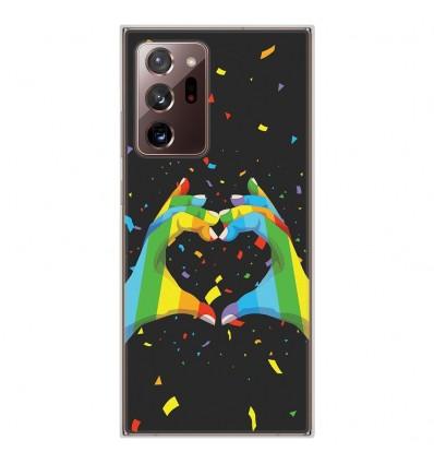 Coque en silicone Samsung Galaxy Note 20 Ultra - LGBT