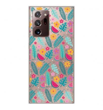 Coque en silicone Samsung Galaxy Note 20 Ultra - Pastèques