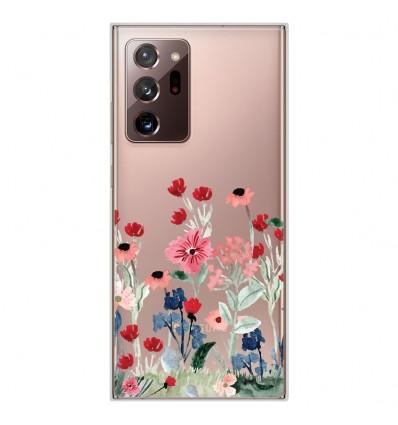 Coque en silicone Samsung Galaxy Note 20 Ultra - Printemps en fleurs