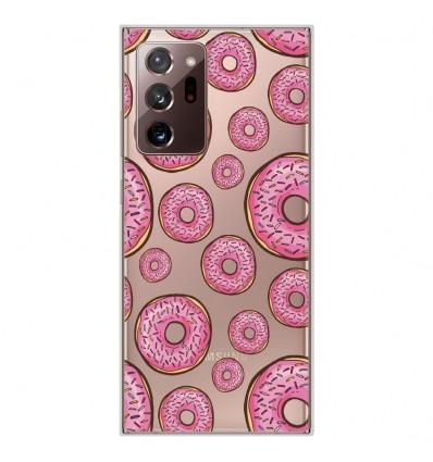 Coque en silicone Samsung Galaxy Note 20 Ultra - Donuts